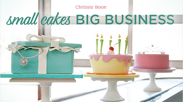 gift box cake tutorial by Chrissie Boon on Craftsy