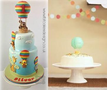Hot Air Balloon Cakes Cake Geek Magazine