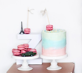 pastel swirl cake by Call Me Cupcake Blog