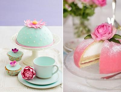 Swedish Princess cakes or dome cakes via Pinterest