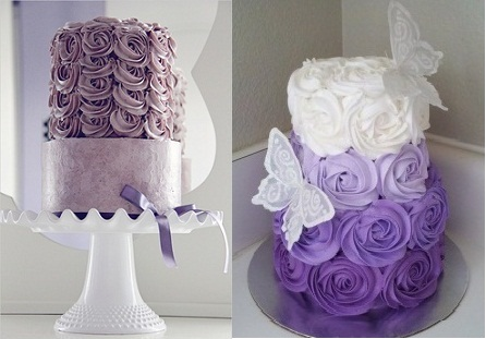 buttercream roses cakes by Three Little Blackbirds and from CakesDecor.com