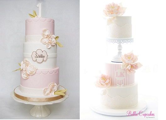 Chic Name Plaques For Cakes Cake Geek Magazine