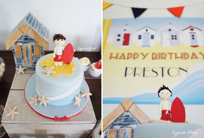 Surfer Cake From Freckles Baby Cakes Jpg