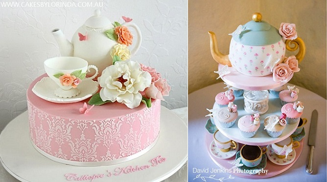 How To Make A Teapot Shaped Cake