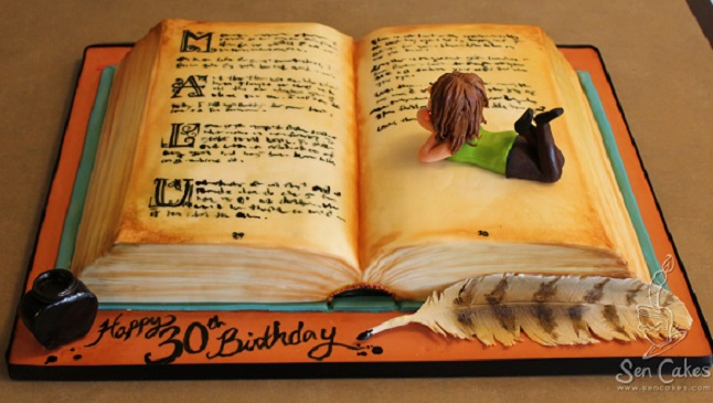 Story Book Cakes