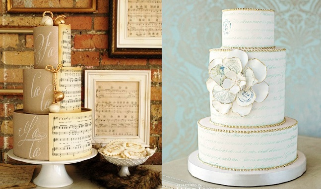 Cake Design Musical Notes : Edible Icing Sheets: Instant Cake Art - Cake Geek Magazine