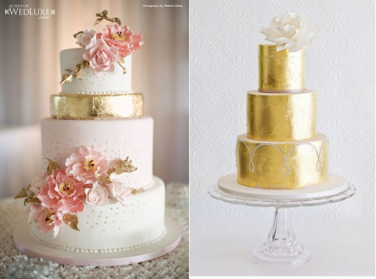 Metallic Gold Cakes Tutorials Cake Geek Magazine