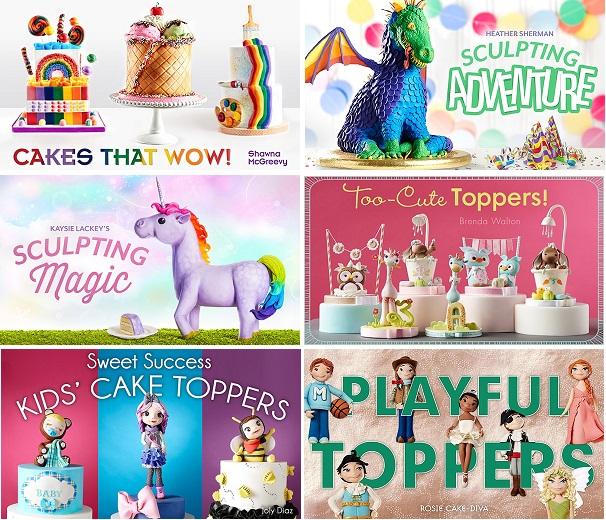Children's Cakes tutorials on Craftsy