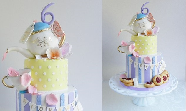 Teapot Cake by The Cake Whisperer