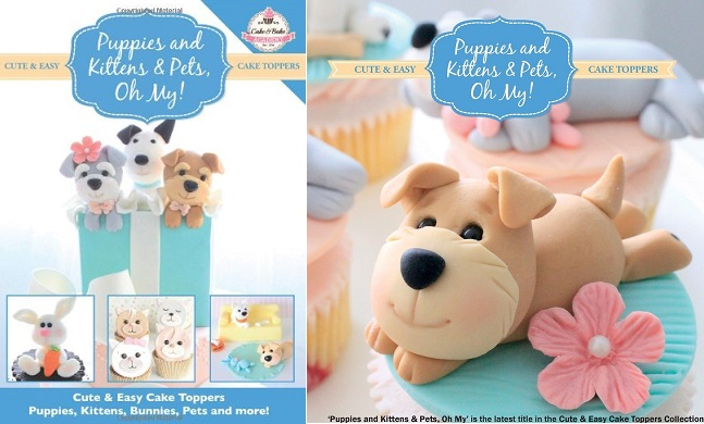 Cute and Easy Cake Toppers Puppies and Kittens and Pets, On My!