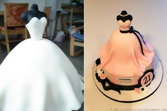 How To Make Mannequin Cake