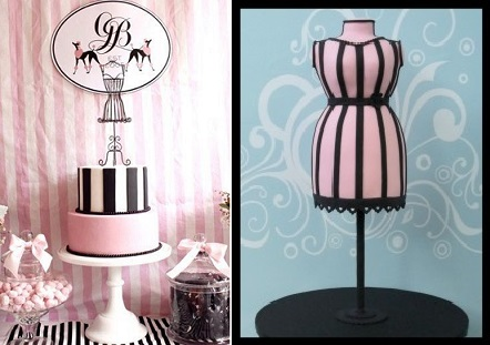 mannequin cakes for fashionistas