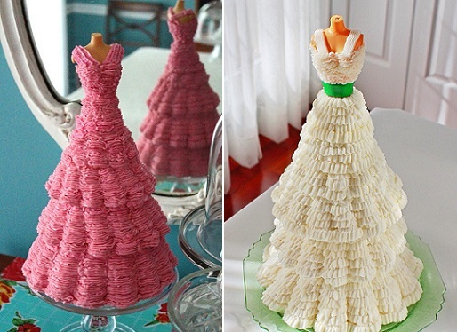 mannequin cakes from Sugary Winzy