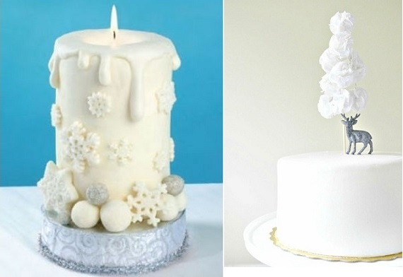 Cake Decorating Tips Michaels : Chic Christmas Cake Decorating - Cake Geek Magazine