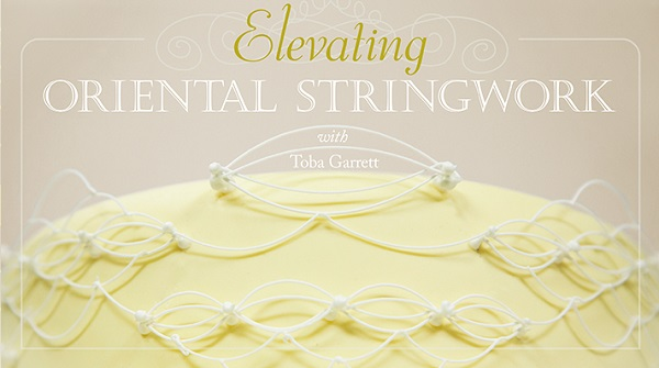 piping stringwork tutorial by Toba Garrett on Craftsy