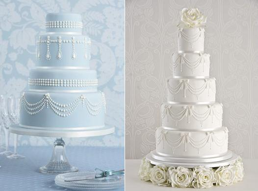 piping techniques with cakes from Peggy Porschen (left) and Maise Fantaisie (right)