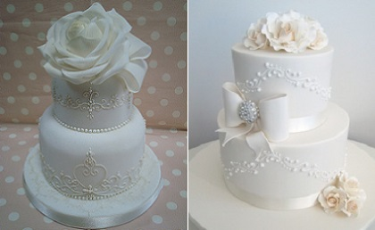 Piping techniques piping scrolls cake geek magazine scroll piping wedding cake designs via pinterest as featured in cake geek magazine online junglespirit Gallery