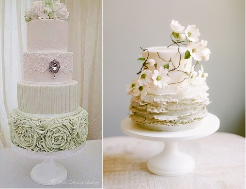 Spring-Wedding-Cakes-from-The-Little-Salmons-Bakery-left-and-Maggie-Austin-right-2
