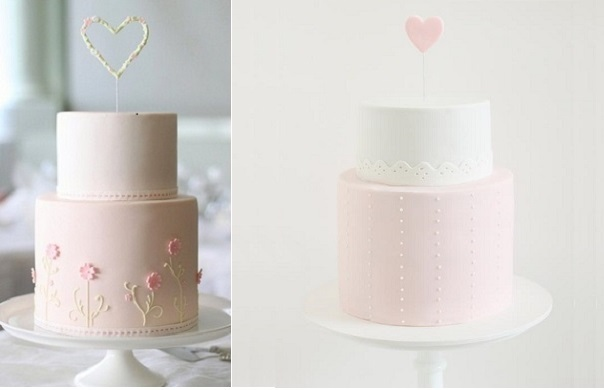valentines cakes engagement cakes by Hello Naomi