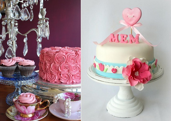 Chloe Kerr Cakes left and Cakes by Jantine NL right