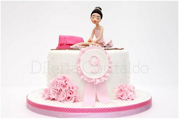 ballerina cake by Diletta Contaldo