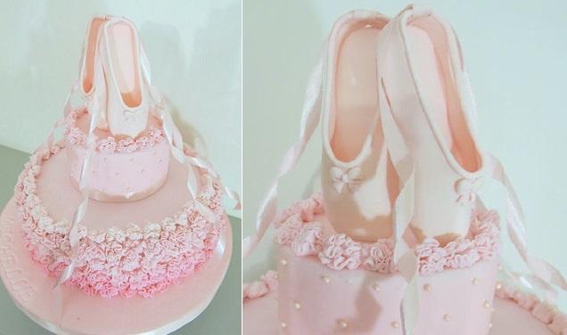 Ballet Slipper Cake Pan