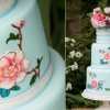 hand painted cake by Emily Harmston Cakes