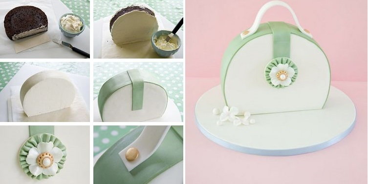 Handbag Cake Topper Tutorial