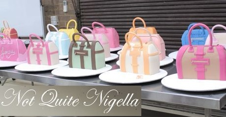handbag cake tutorial from the Not Quite Nigella blog