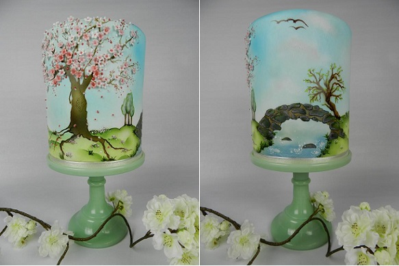 multi dimensional cake decorating by Kim Wiltjer NL