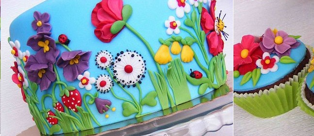 Cake Decorating Ideas Summer : Multi Dimensional Cake Decorating - Cake Geek Magazine