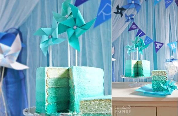 Pinwheel Cakes