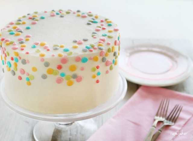 polka dot cake in pastels by amanda redtke i am baker