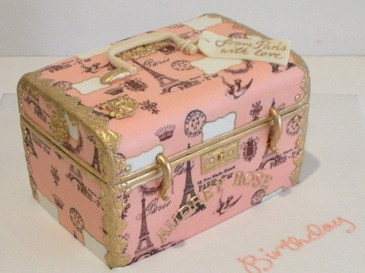 suitcase cake vintage luggage cake by faye cahill