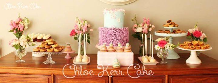 sweet table wedding dessert table by Chloe Kerr Cake