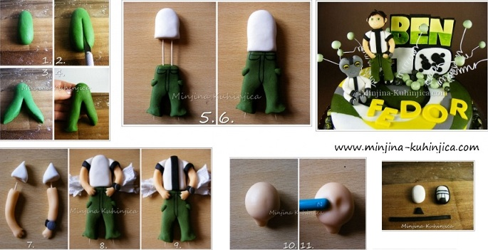 cake topper tutorial via Minjina Kuhinjica
