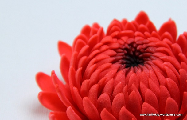 chrysanthemum sugar flower tutorial by Tarttokig
