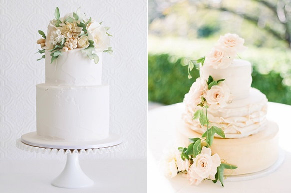 Peach wedding cakes cake geek magazine peach wedding cakes rustic by faye cahill left and image right by lucy leonardi junglespirit Images