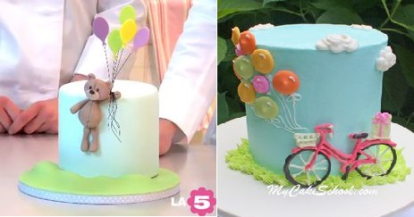 craftsy tutorial how to make hot air balloon cake topper