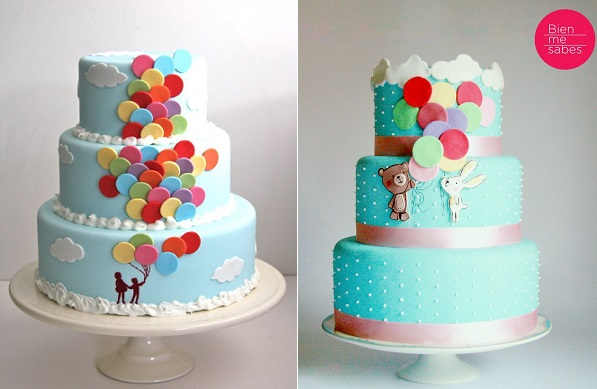 Cake Images With Balloons : Balloon Cakes for All Occasions - Cake Geek Magazine
