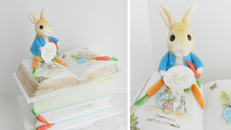 book cake by The Cake Whisperer, Canada