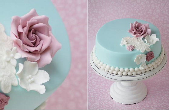 elegant afternoon tea cake by Cakes by Jantine