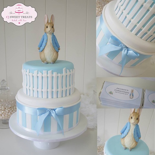 Beatrix Potter cake Peter Rabbit cake by CJ Sweet Treats