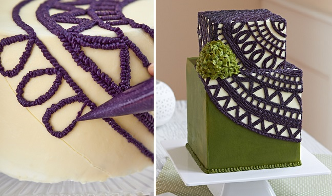 Buttercream Crochet Cake by the Queen of Hearts Couture Cakes