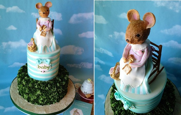 Mrs. Tittlemouse cake by The Vagabond Baker