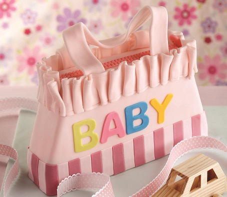 diaper bag cake tutorial