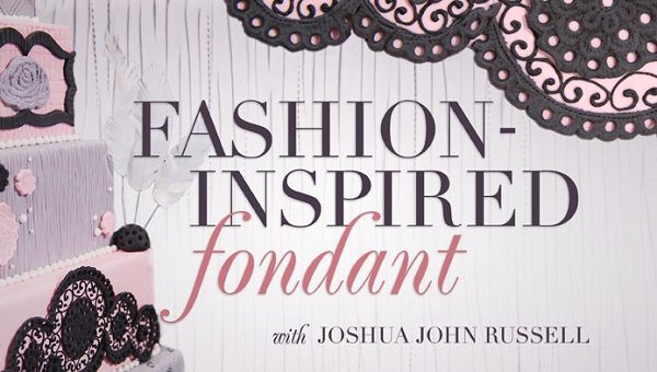 fondant fabric effect tutorial by Joshua John Russell on Craftsy