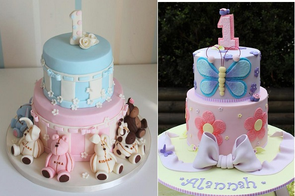 Beautiful 1st Birthday Cakes - Cake Geek Magazine