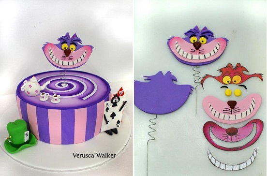 Alice in Wonderland cake by Verusca Walker