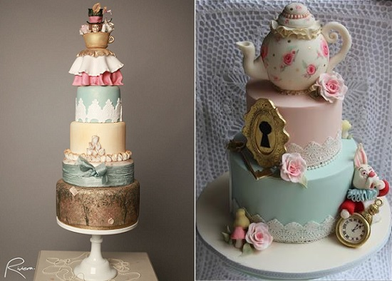 Alice in Wonderland Cakes - Cake Geek Magazine